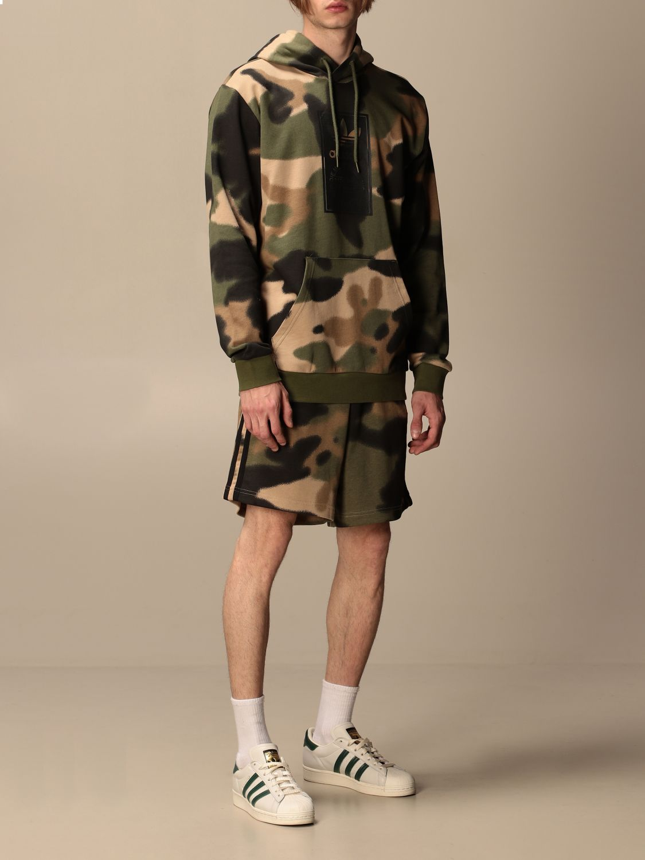 Sweatshirt Adidas Originals: Sweatshirt men Adidas Originals military 2