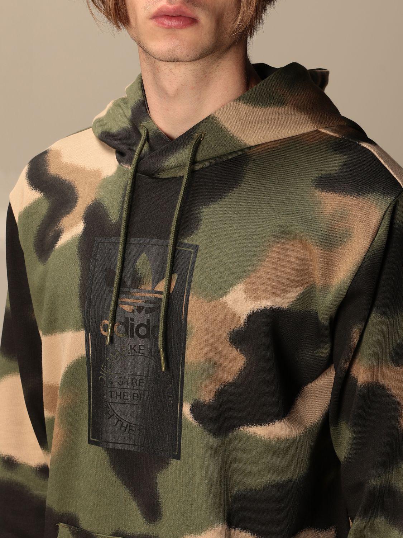 Sweatshirt Adidas Originals: Sweatshirt men Adidas Originals military 4
