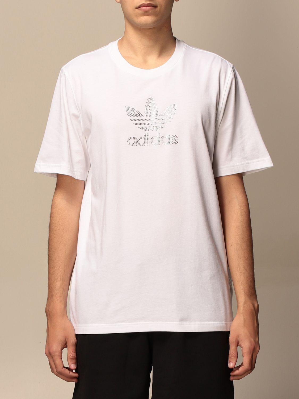 T-shirt Adidas Originals: T-shirt men Adidas Originals white 1