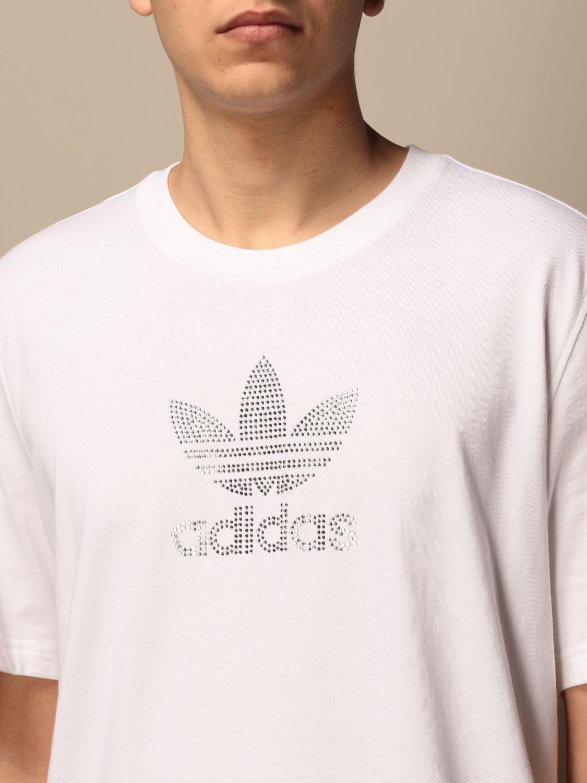 T-shirt Adidas Originals: T-shirt men Adidas Originals white 3