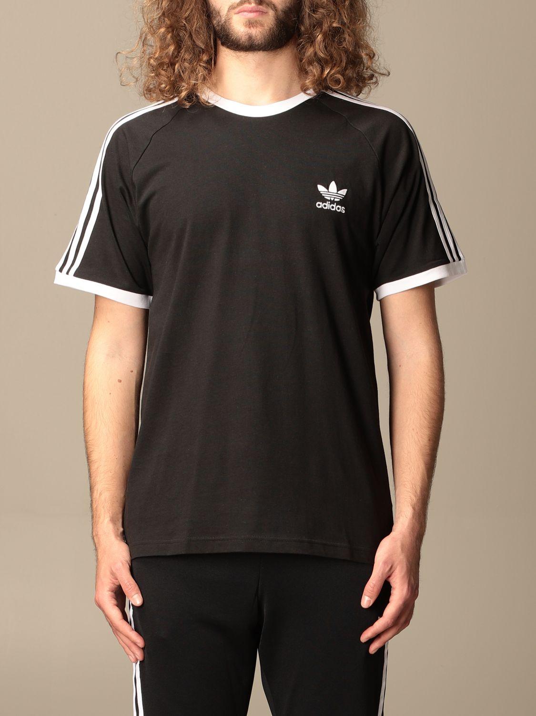 T-shirt Adidas Originals: Adidas Originals cotton t-shirt with logo black 1