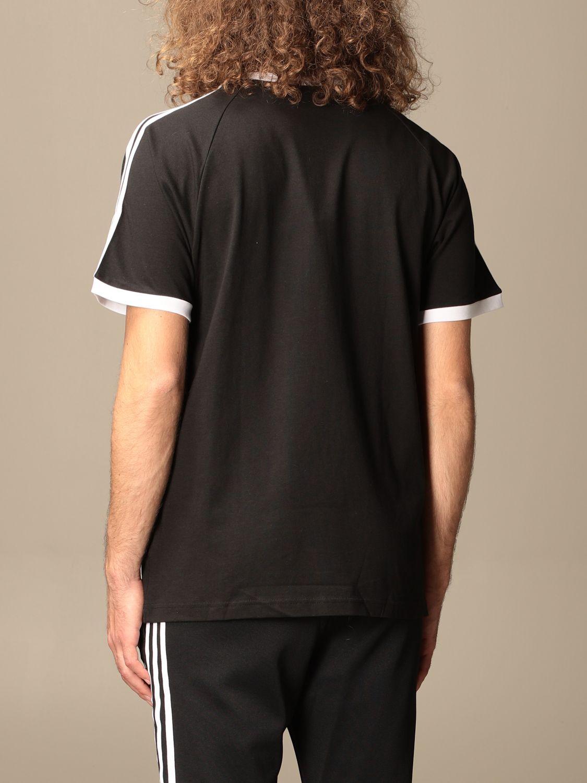 T-shirt Adidas Originals: Adidas Originals cotton t-shirt with logo black 2