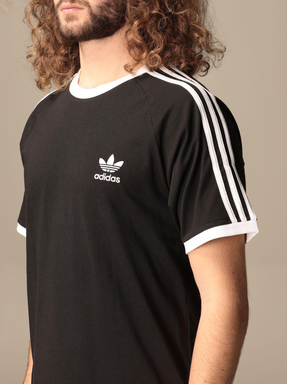 T-shirt Adidas Originals: Adidas Originals cotton t-shirt with logo black 3