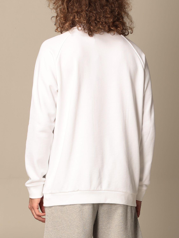 Sweatshirt Adidas Originals: Adidas Originals crewneck sweatshirt with logo white 2