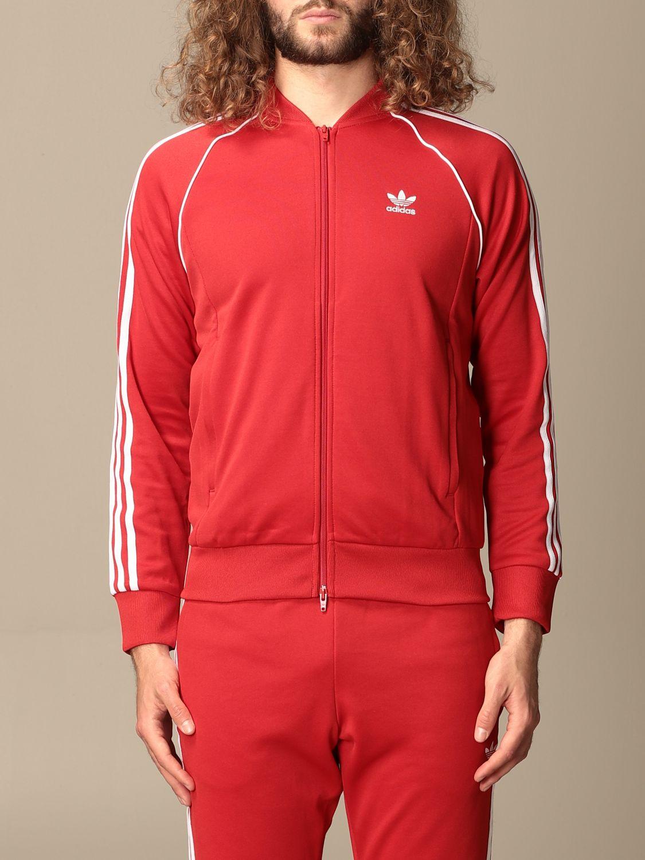 Sweatshirt Adidas Originals: Sweatshirt homme Adidas Originals rouge 1