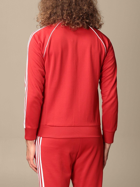 Sweatshirt Adidas Originals: Sweatshirt homme Adidas Originals rouge 3
