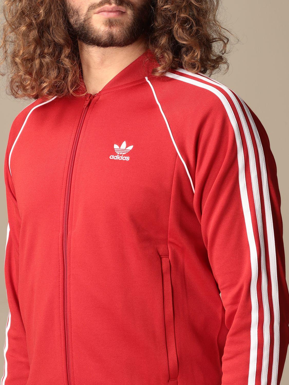 Sweatshirt Adidas Originals: Sweatshirt homme Adidas Originals rouge 5