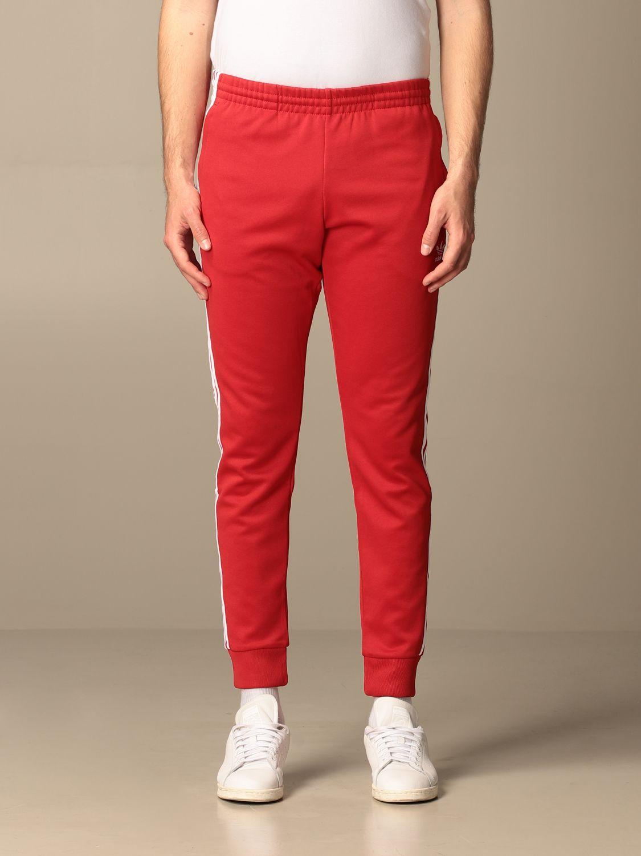 Pantalone Adidas Originals: Pantalone jogging Adidas Originals con logo rosso 1