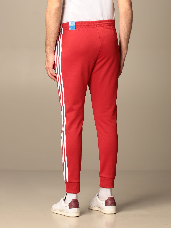 Pantalone Adidas Originals: Pantalone jogging Adidas Originals con logo rosso 3