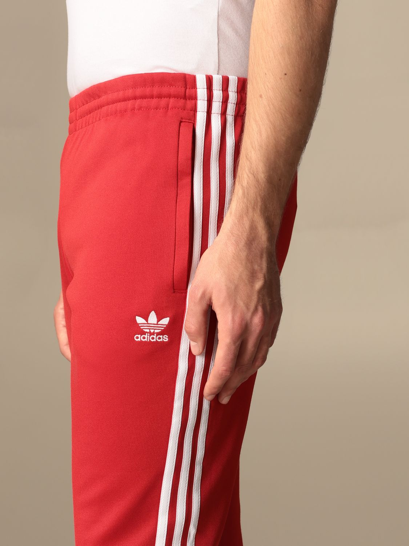 Pantalone Adidas Originals: Pantalone jogging Adidas Originals con logo rosso 5