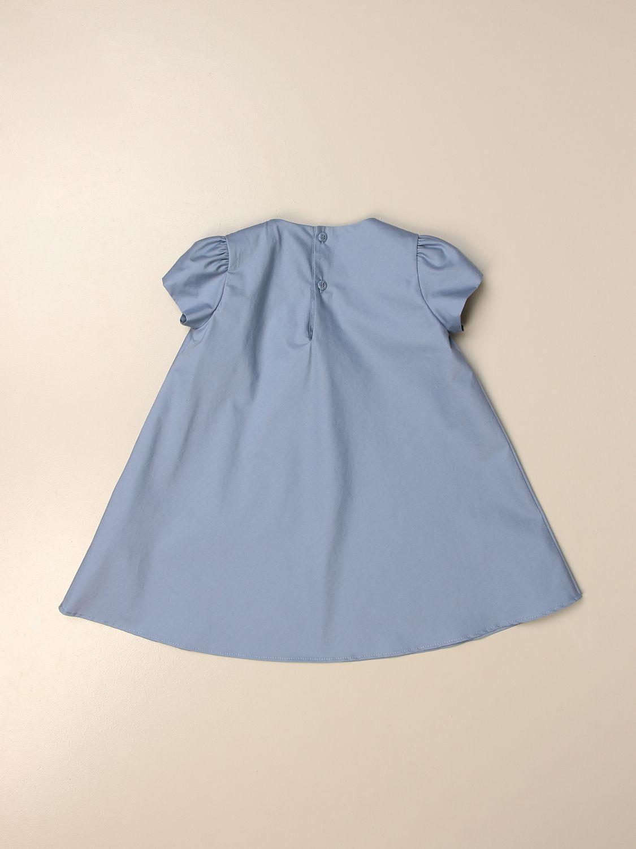 Vestido Il Gufo: Vestido niños Il Gufo azul claro 2