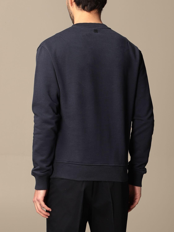 Sweatshirt Ami Alexandre Mattiussi: Sweatshirt men Ami Alexandre Mattiussi navy 3