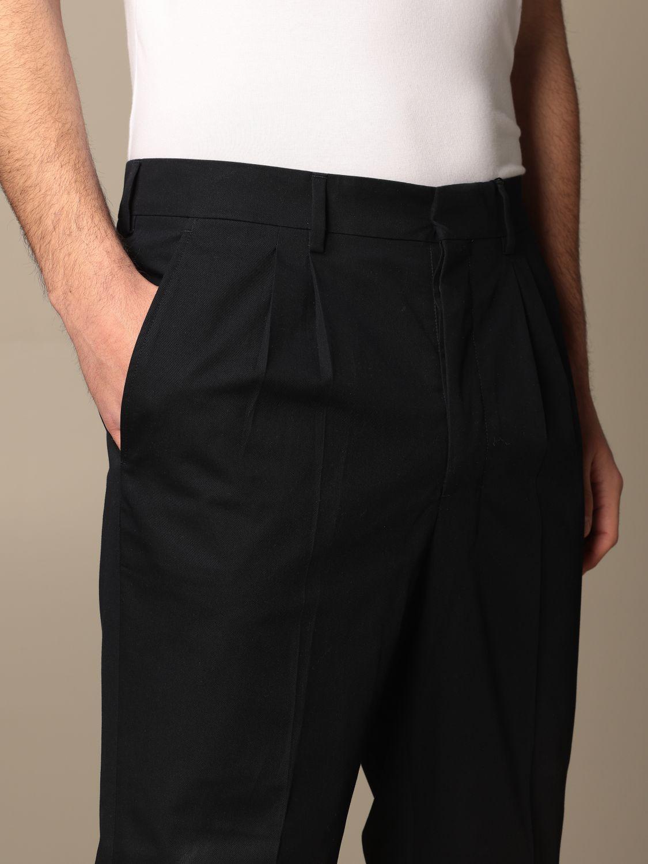 Pants Ami Alexandre Mattiussi: Pants men Ami Alexandre Mattiussi navy 5