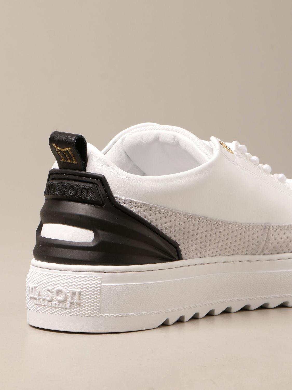 Sneakers Mason Garments: Sneakers Firenze Mason Garments in pelle bianco 3