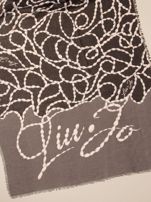 Платок Liu Jo: Косынка Женское Liu Jo черный 3