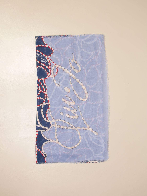 Платок Liu Jo: Косынка Женское Liu Jo голубой 1