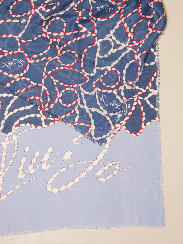 Платок Liu Jo: Косынка Женское Liu Jo голубой 3