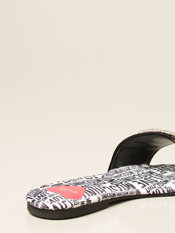 Flache Sandalen Love Moschino: Sandalen mit absatz damen Love Moschino schwarz 3