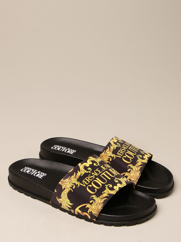 Sandals Versace Jeans Couture: Shoes men Versace Jeans Couture black 2