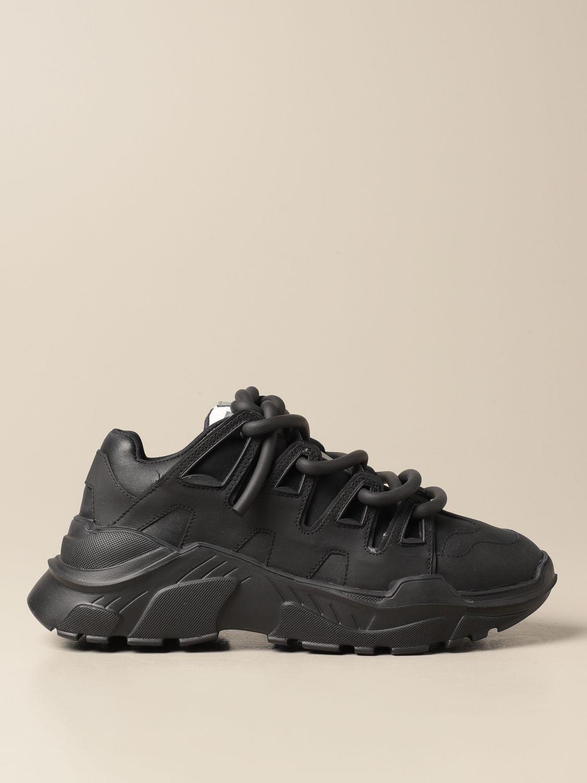 Sneakers Gienchi: Sneakers Ozzy Gienchi in pelle nero 1