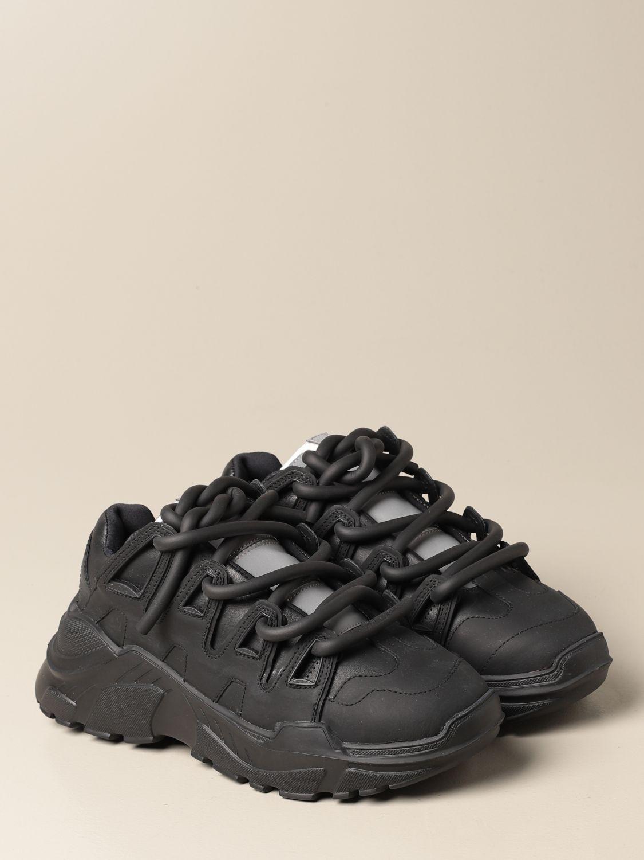 Sneakers Gienchi: Sneakers Ozzy Gienchi in pelle nero 2
