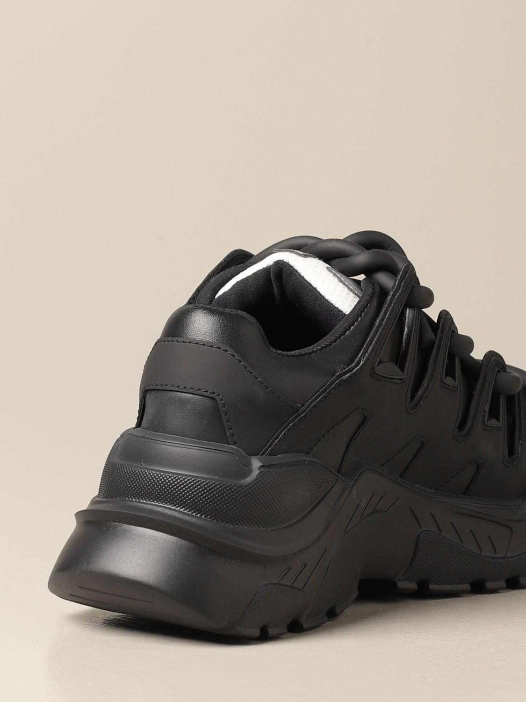 Sneakers Gienchi: Sneakers Ozzy Gienchi in pelle nero 3
