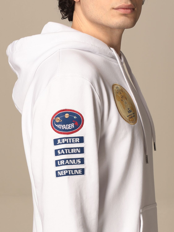 Sweatshirt Alpha Industries: Sweatshirt homme Alpha Industries blanc 3