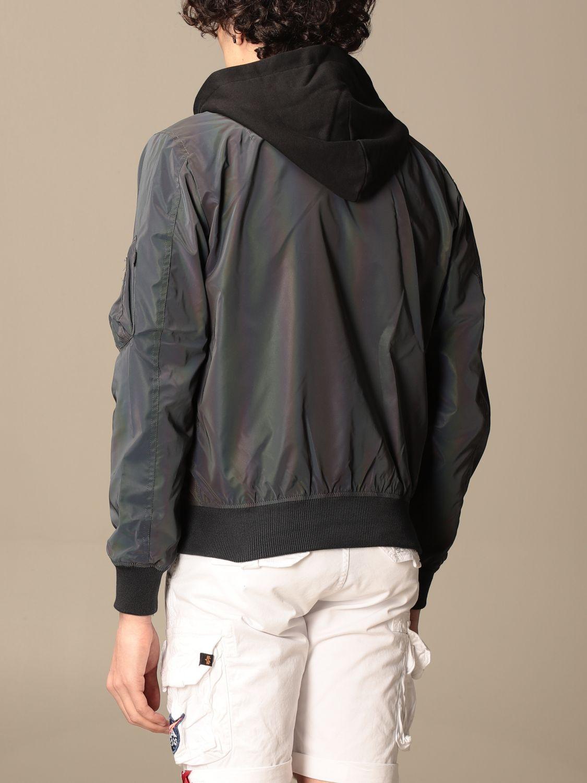 Jacket Alpha Industries: Jacket men Alpha Industries grey 2