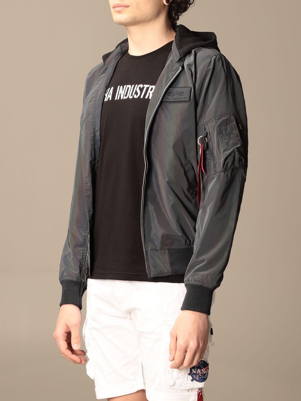 Jacket Alpha Industries: Jacket men Alpha Industries grey 3