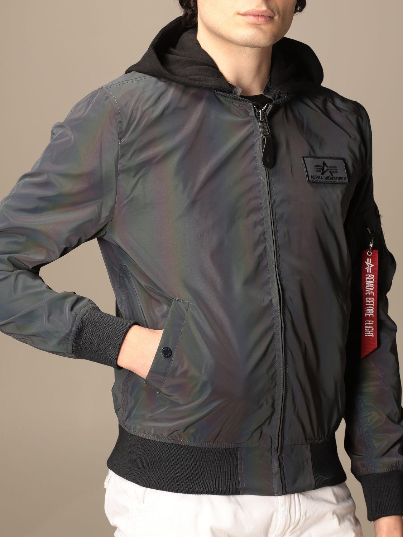 Jacket Alpha Industries: Jacket men Alpha Industries grey 4