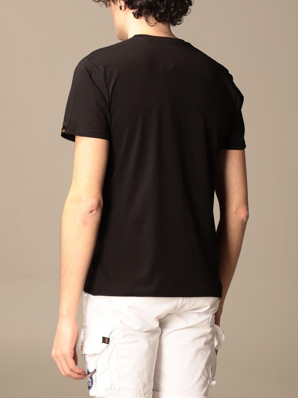 T-shirt Alpha Industries: T-shirt men Alpha Industries black 2