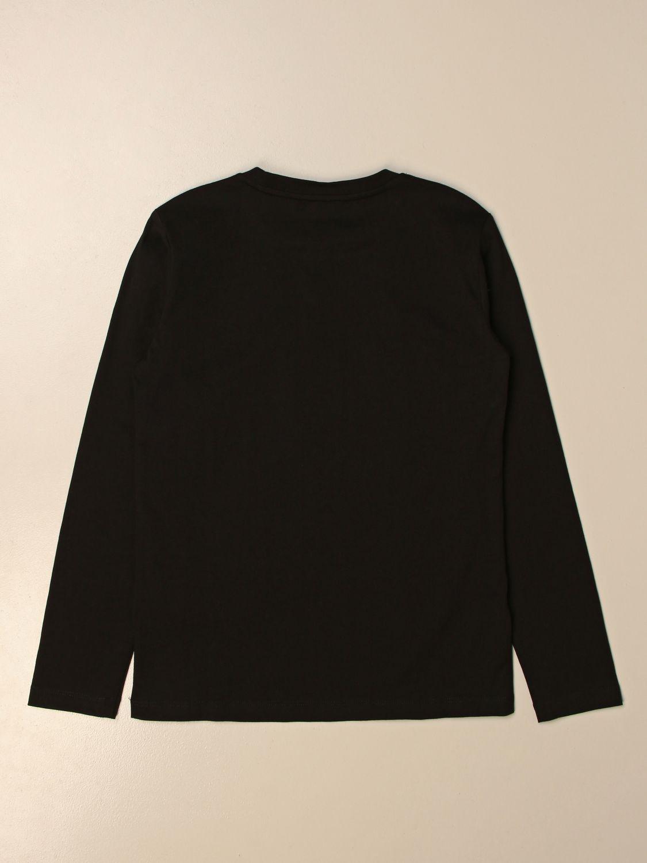 T-shirt Ea7: EA7 basic t-shirt with logo black 2
