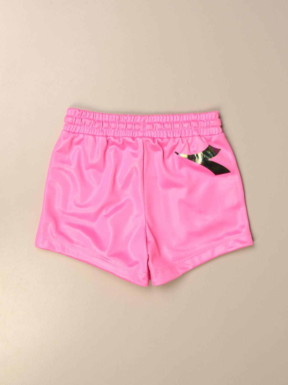 Pantalones cortos Diadora: Pantalones cortos niños Diadora fucsia 2