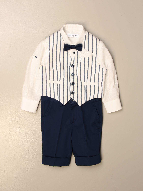 Baby-Overall Colori Chiari: Baby-overall kinder Colori Chiari hellblau 1