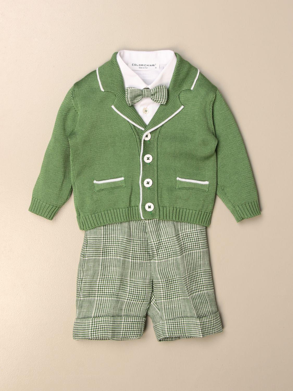 Baby-Overall Colori Chiari: Baby-overall kinder Colori Chiari grün 1