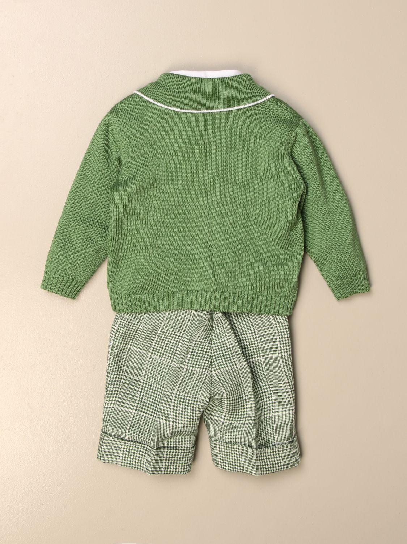 Baby-Overall Colori Chiari: Baby-overall kinder Colori Chiari grün 2