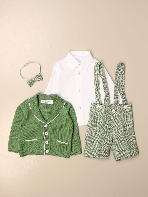 Baby-Overall Colori Chiari: Baby-overall kinder Colori Chiari grün 4