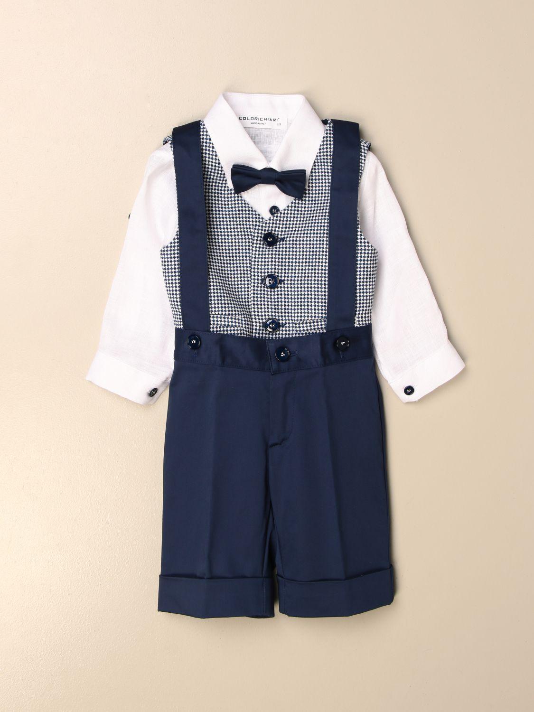 Baby-Overall Colori Chiari: Baby-overall kinder Colori Chiari blau 1