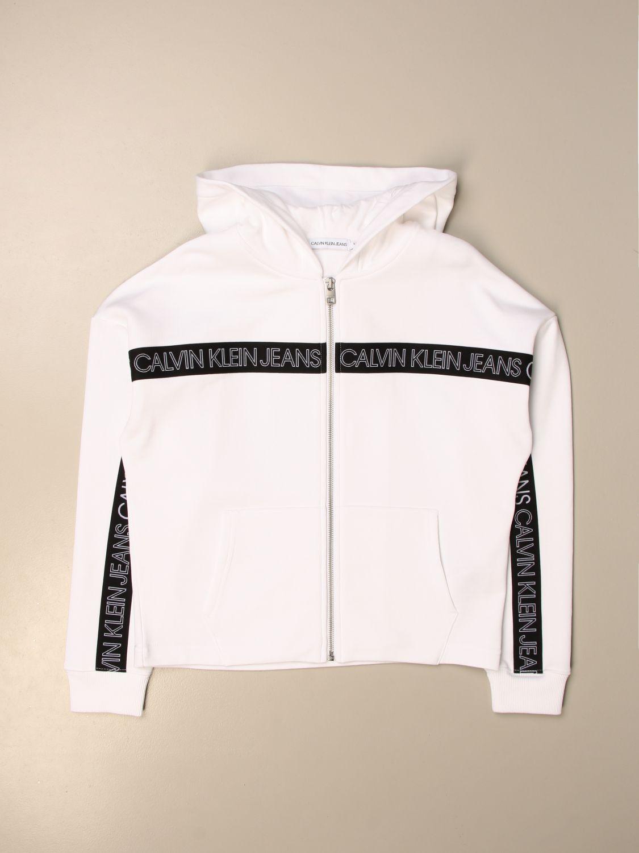 Jersey Calvin Klein: Jersey niños Calvin Klein blanco 1