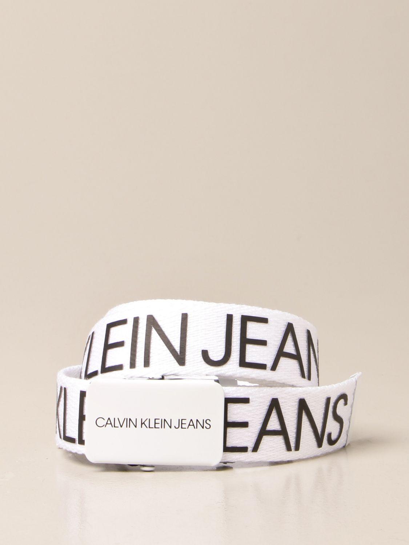 Cinturón Calvin Klein: Cinturón niños Calvin Klein rosa 1