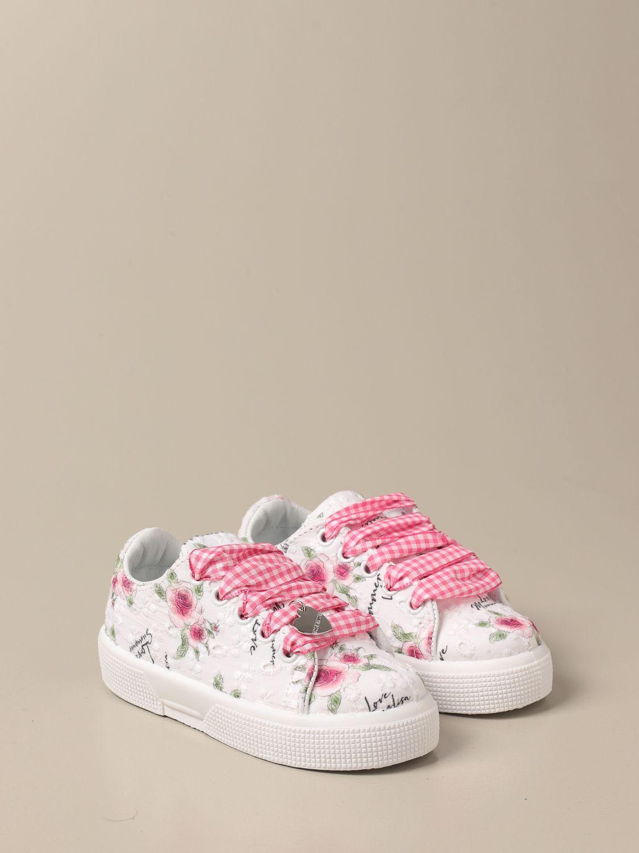 Zapatos Monnalisa: Zapatos niños Monnalisa blanco 2