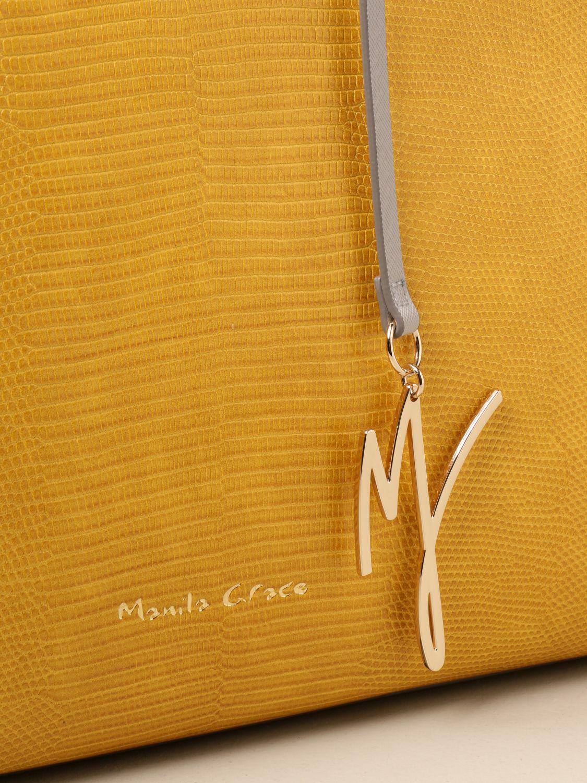托特包 Manila Grace: 手提包 女士 Manila Grace 黄色 3