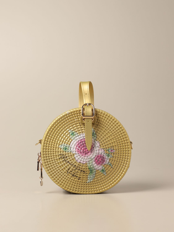 Bag Monnalisa: Monnalisa round bag in pvc beige 1