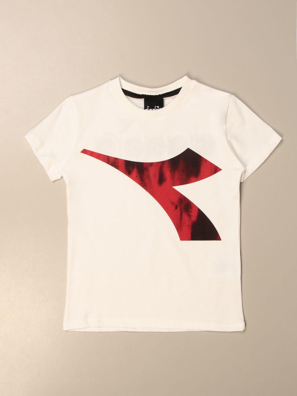 T-Shirt Diadora: T-shirt kinder Diadora weiß 1