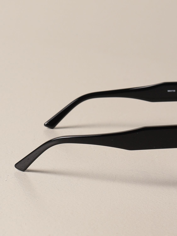 Occhiali Balenciaga: Occhiali da sole Balenciaga in acetato con logo nero 3