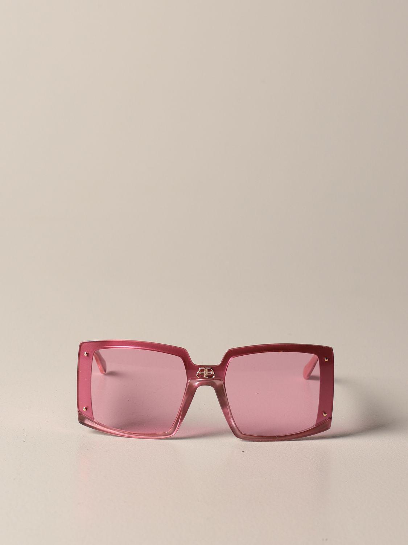 Солнцезащитные очки Balenciaga: Солнцезащитные очки Женское Balenciaga розовый 2