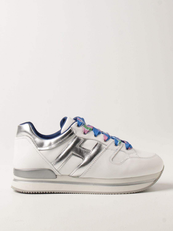 H222 platforms Hogan sneakers in leather