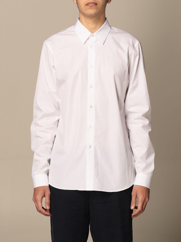 Camicia Jil Sander: Camicia classica Jil Sander con collo italiano bianco 1