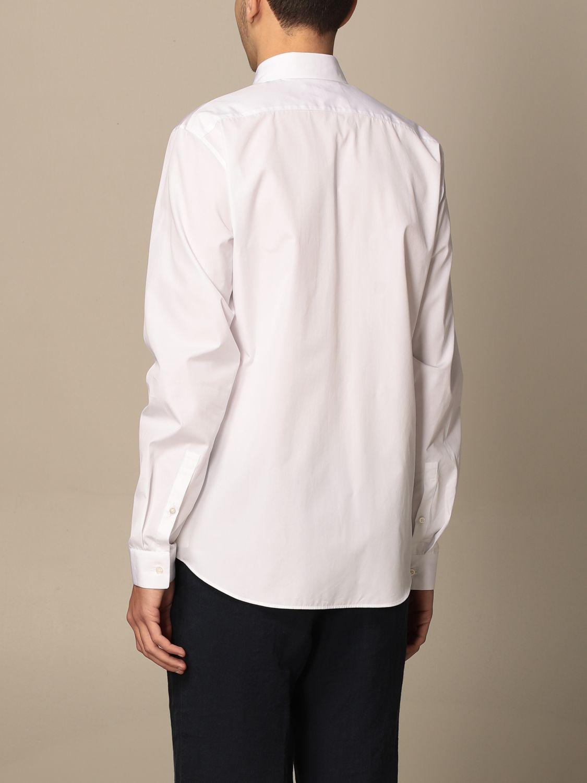 Camicia Jil Sander: Camicia classica Jil Sander con collo italiano bianco 2