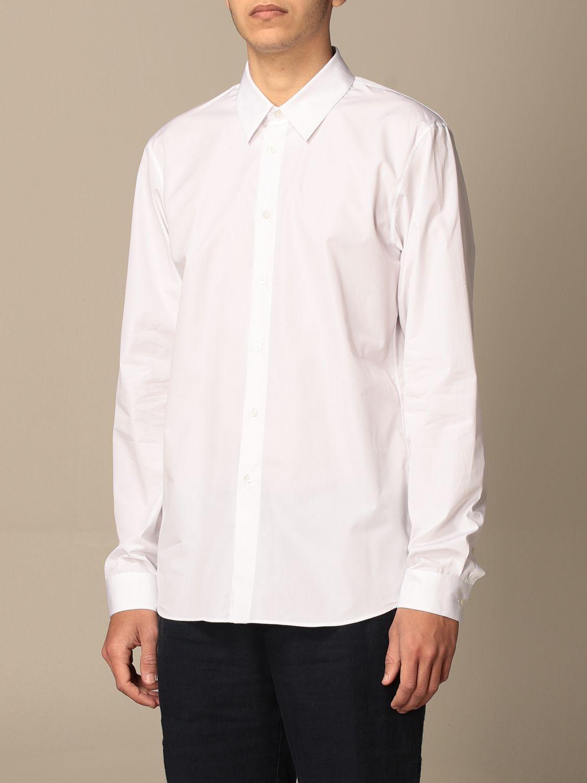 Camicia Jil Sander: Camicia classica Jil Sander con collo italiano bianco 3